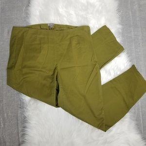 J. Jill - Olive Green stretch trousers